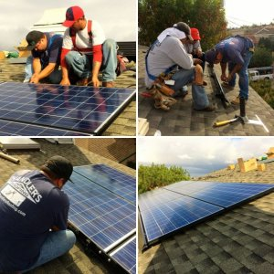 Solar Power Shines on Redondo Beach, California Roofing Project